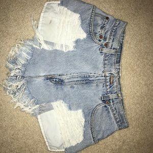 LF Furst of a kind jean shorts